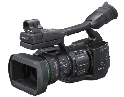 sony ex1 rental camera